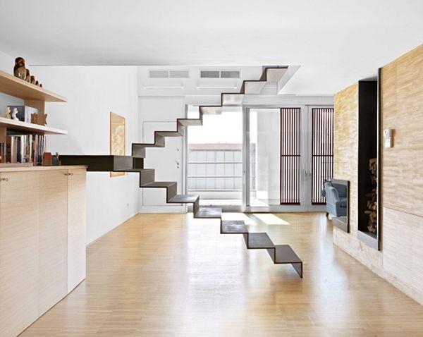 El reino de las ideas Escaleras minimalistas