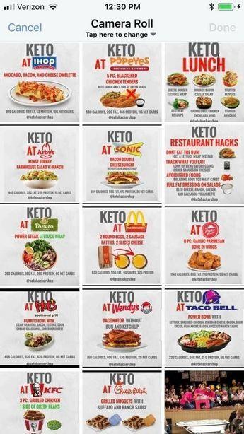 low carb diet restaurants
