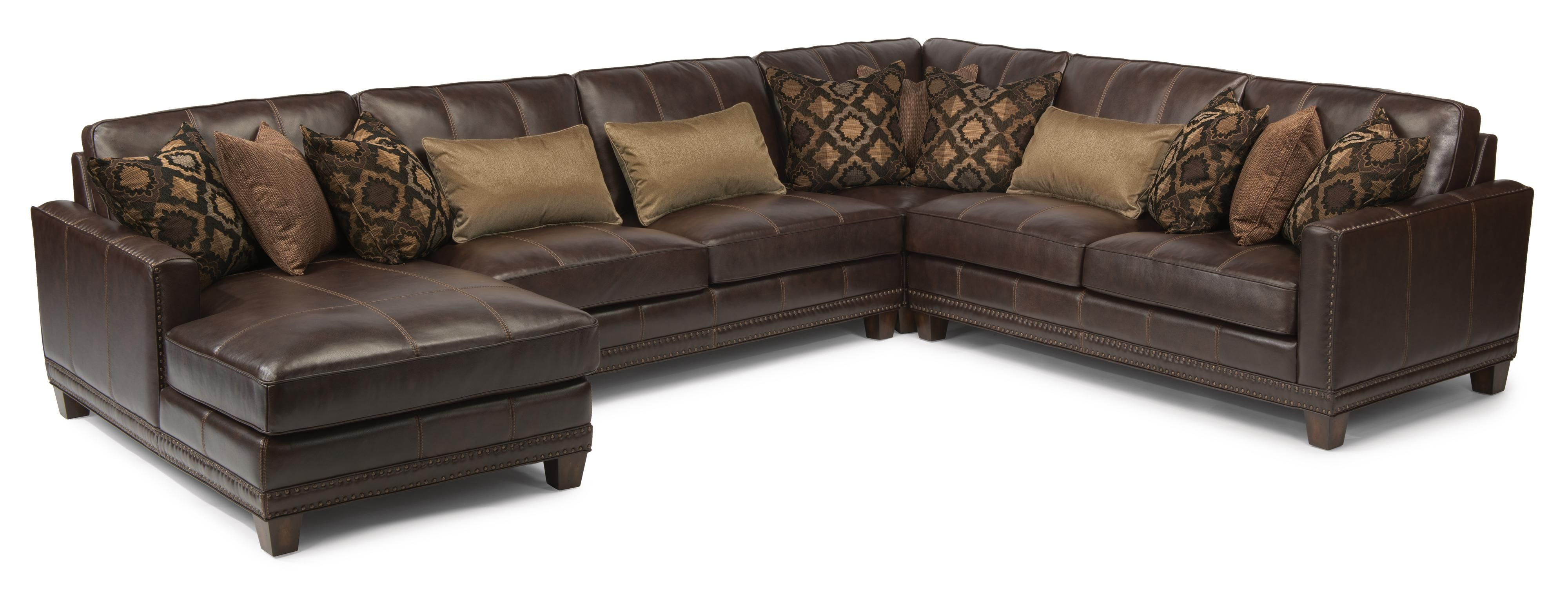 Latitudes Port Royal 4 Pc Sectional Sofa by Flexsteel SKU 1373