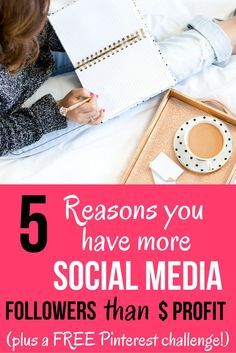 What to do if your social media follower numbers are growing, but it's not translating to money in the bank! We're covering 5 reasons your current social media strategy isn't profitable and what to do about it. Plus join the FREE 14 Day #PinProfitChallenge to create a profitable Pinterest strategy in 2016!