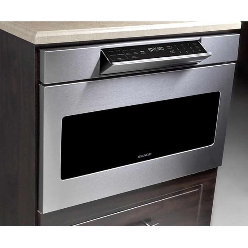 Sharp Microwave Ovens 24 Inch 1 2 Cu Ft Built In Drawer Microwave Smd2477asc Stalwart Appliances Microwave Drawer Sharp Microwave Sharp Microwave Drawer
