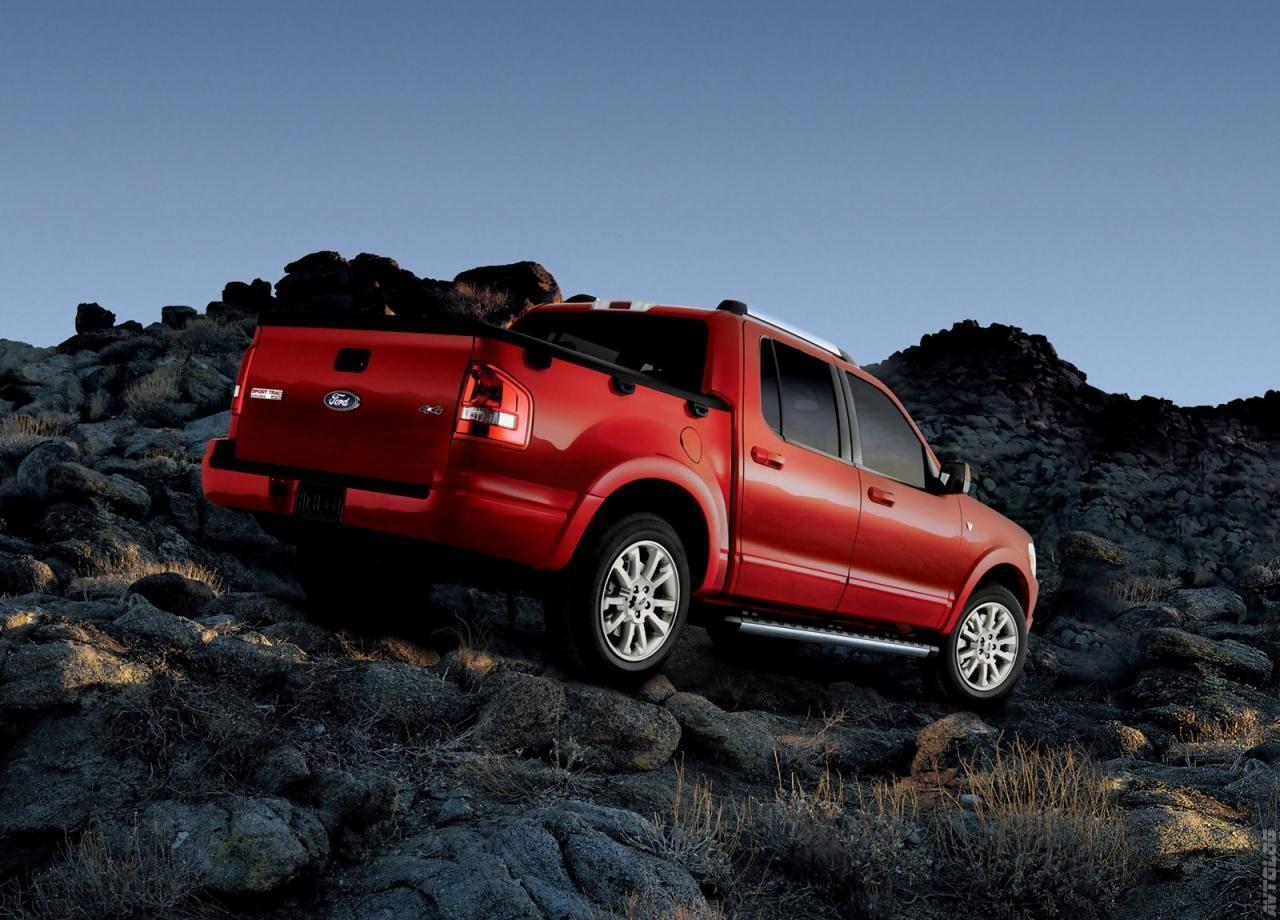 2007 Ford Explorer Sport Trac Прессрелиз, Фотографии