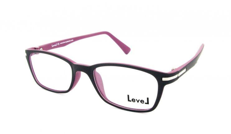 Conception innovante 71165 32d49 Lunettes de vue Level le 1312 viro violet. Monture ...