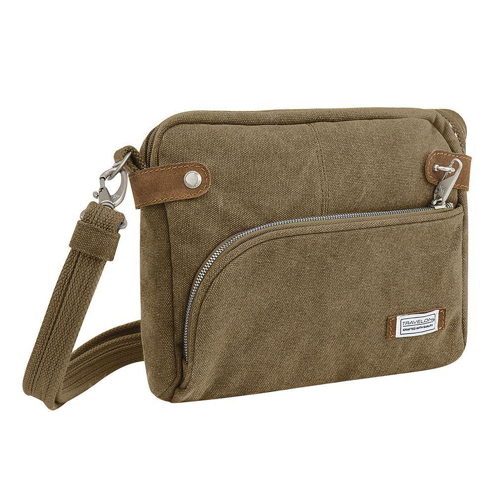 904913fb86d2 Travelon Anti-Theft Heritage RFID-Blocking Crossbody Bag | Products ...