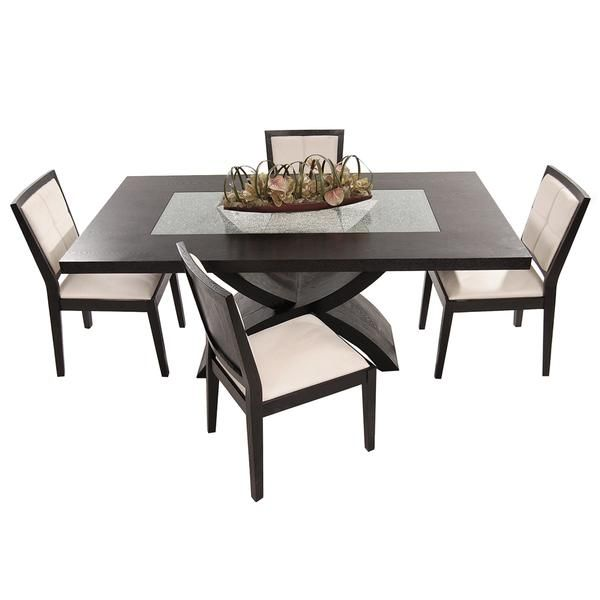 Zephyranth 5 Piece Formal Dining Set Formal Dining Set Dining