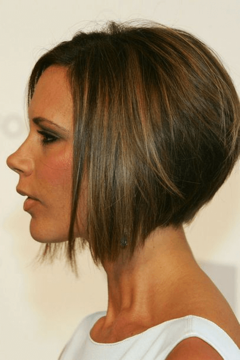 Bob Frisuren Concave Victoria Beckham Hair Victoria Beckham Short Hair Celebrity Short Hair