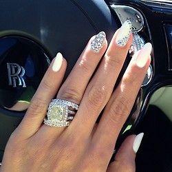 Glitter Nails Trend Ideas Inspiration Nail nail Nail trends