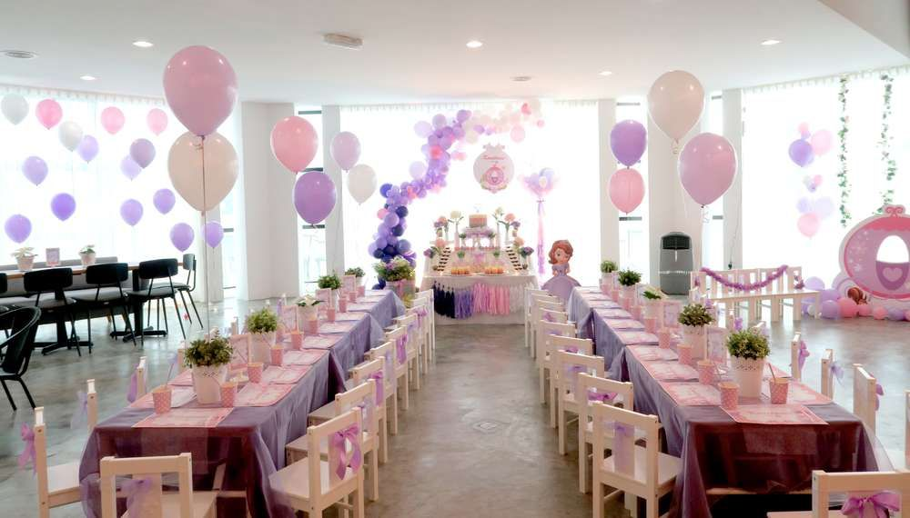 Sofia the First Birthday Party Ideas | Photo 1 of 29 & Sofia the First Birthday Party Ideas | Pinterest | Birthday party ...