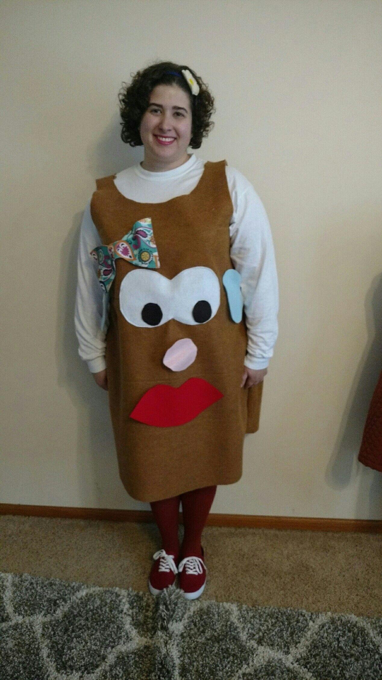 Mr Potato Head Halloween Costume With Interchangeable