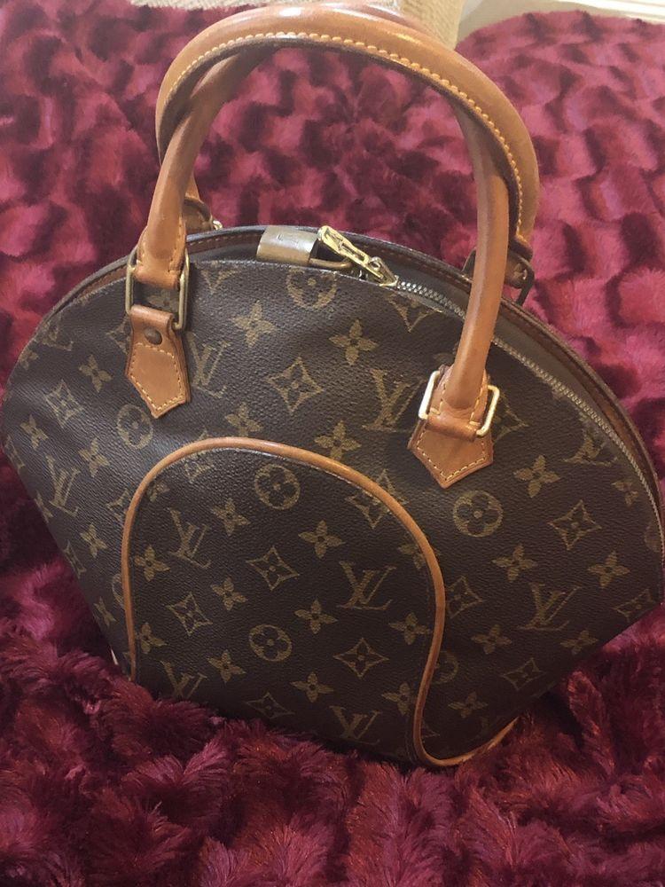 Authentic Louisvuitton Monogram Ellipse Pm Bowler Style Handbag France M10967 Fashion Clothing Shoes Accessories Womensbagshandbags Ebay Link