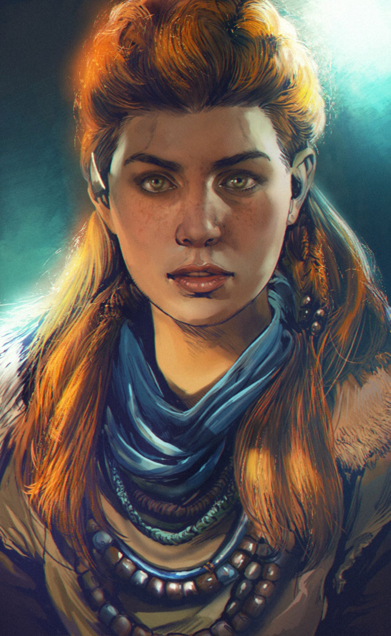 Portrait #025 by mehdic on DeviantArt