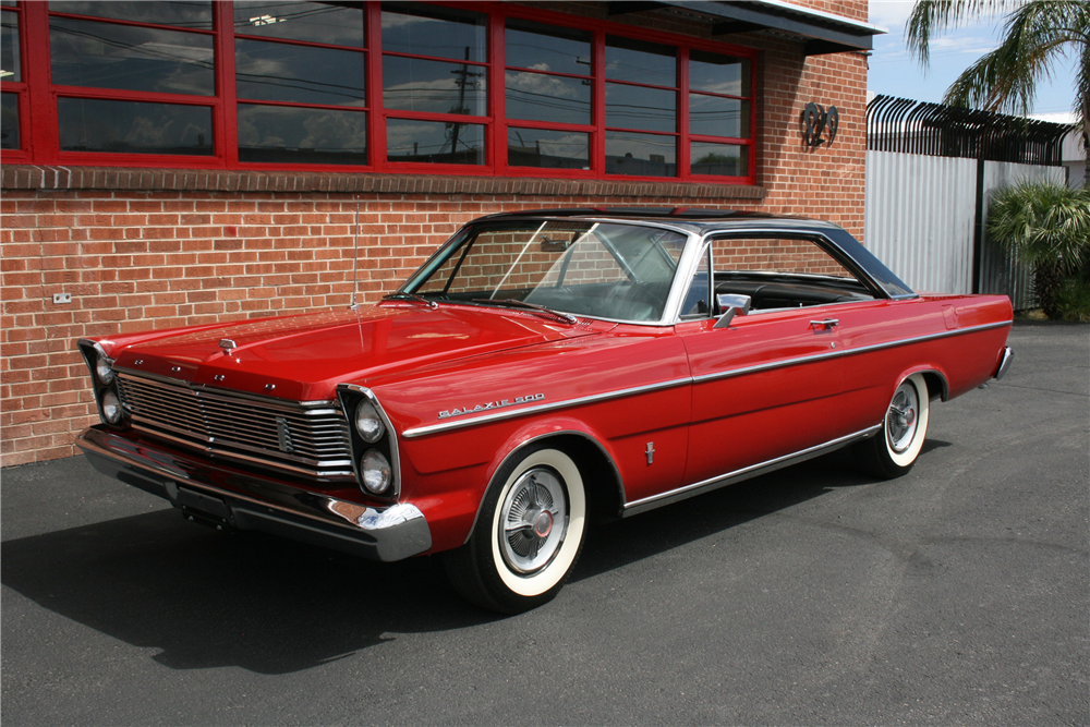 Sold* at Las Vegas 2016 - Lot #615 1965 FORD GALAXIE 500 FASTBACK ...
