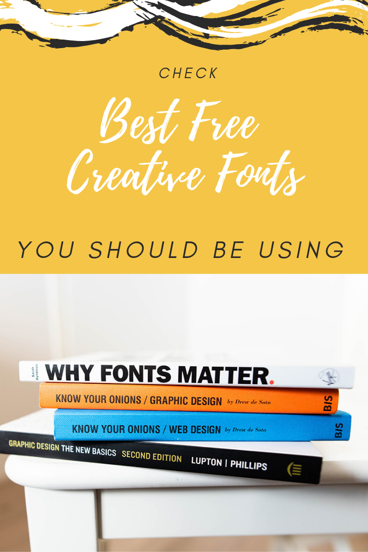 Best Free Creative Fonts You Should Be Using Themerex Creative Fonts Web Design Professional Web Design