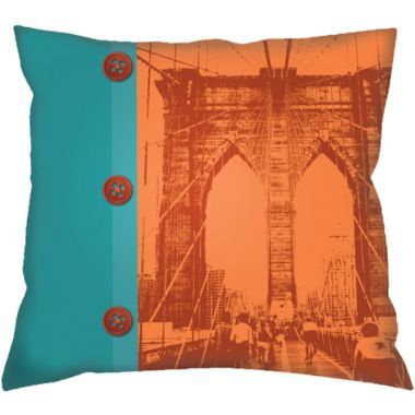 The Brooklyn Bridge By TAC Home Available At JCPCom Homedecor Best Kmart Decorative Pillows