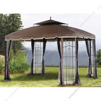 SunjoyDirect.com - Sunjoy Big Lots Sheridan Grill Gazebo Replacement Canopy Fabric Set Top Covers  sc 1 st  Pinterest & SunjoyDirect.com - Sunjoy Big Lots Sheridan Grill Gazebo ...