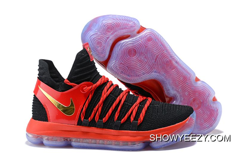 best website 5a163 c32eb Free Shipping Nike KD 10  Peach Jam EYBL  Yellow And Orange Multicolor,  Price   100.93 - Nike KD Shoes, New Nike KD Shoes