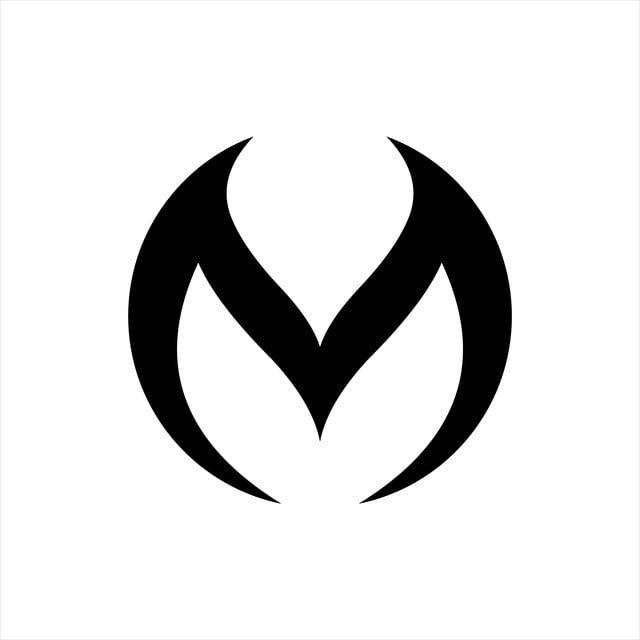 Initials M Logo Vector Circle Letter M Logo Vector And Png Initials Logo Design Letter Logo Design Letter M Logo