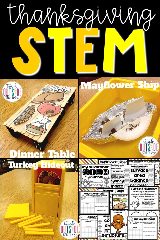 Thanksgiving Stem Challenges November Science Pinterest Stem