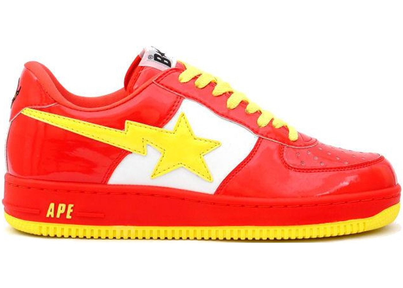 68cf29c3 A Bathing Ape Bapesta DC Comics The Flash. | SHOE-TACULAR HOMME ...