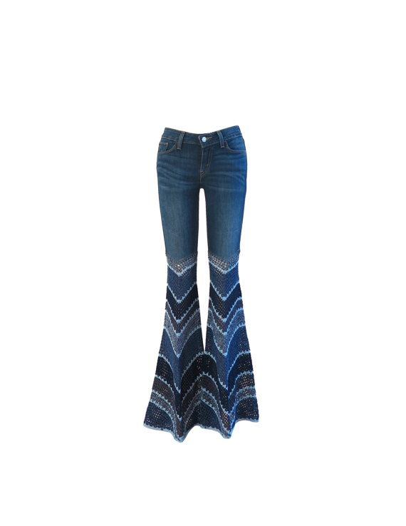 Made to Order - Add Bellbottoms to Your Own Jeans - Crochet ...