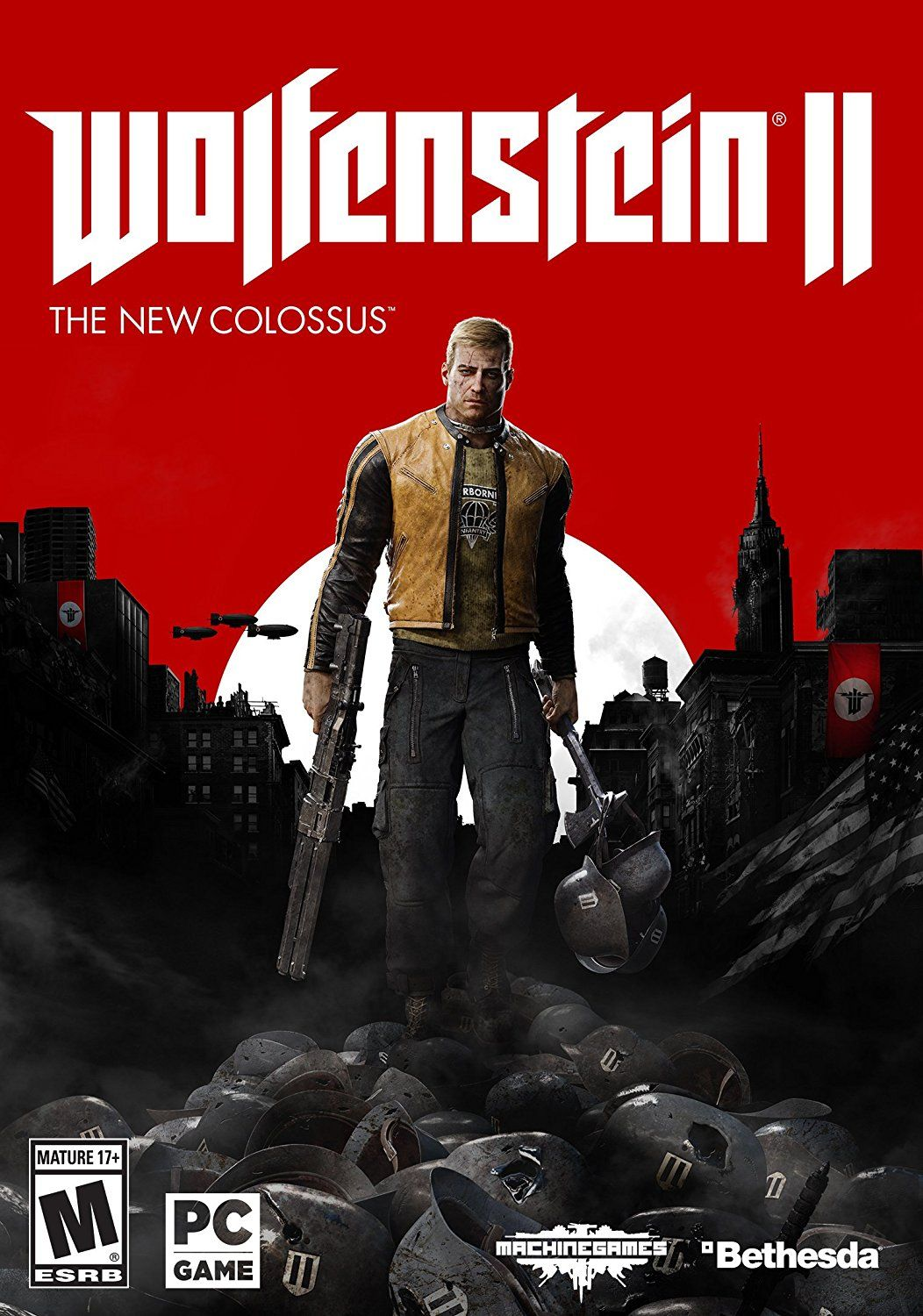 Image result for Wolfenstein II The New Colossus cover pc