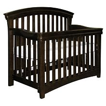 Shermag Tuscany Convertible Crib Espresso 499 Baby