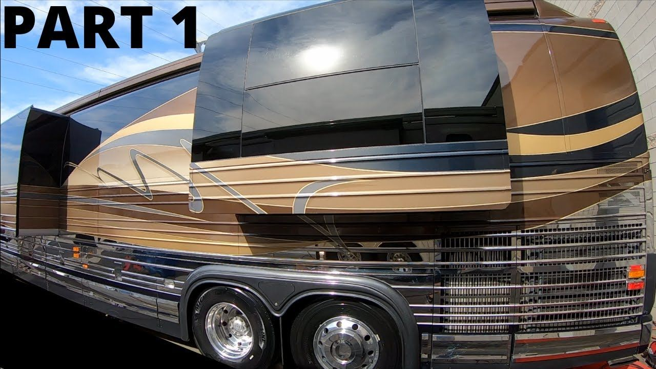 TRADED 2018 NEWMAR KING AIRE FOR 2008 PREVOST MARATHON