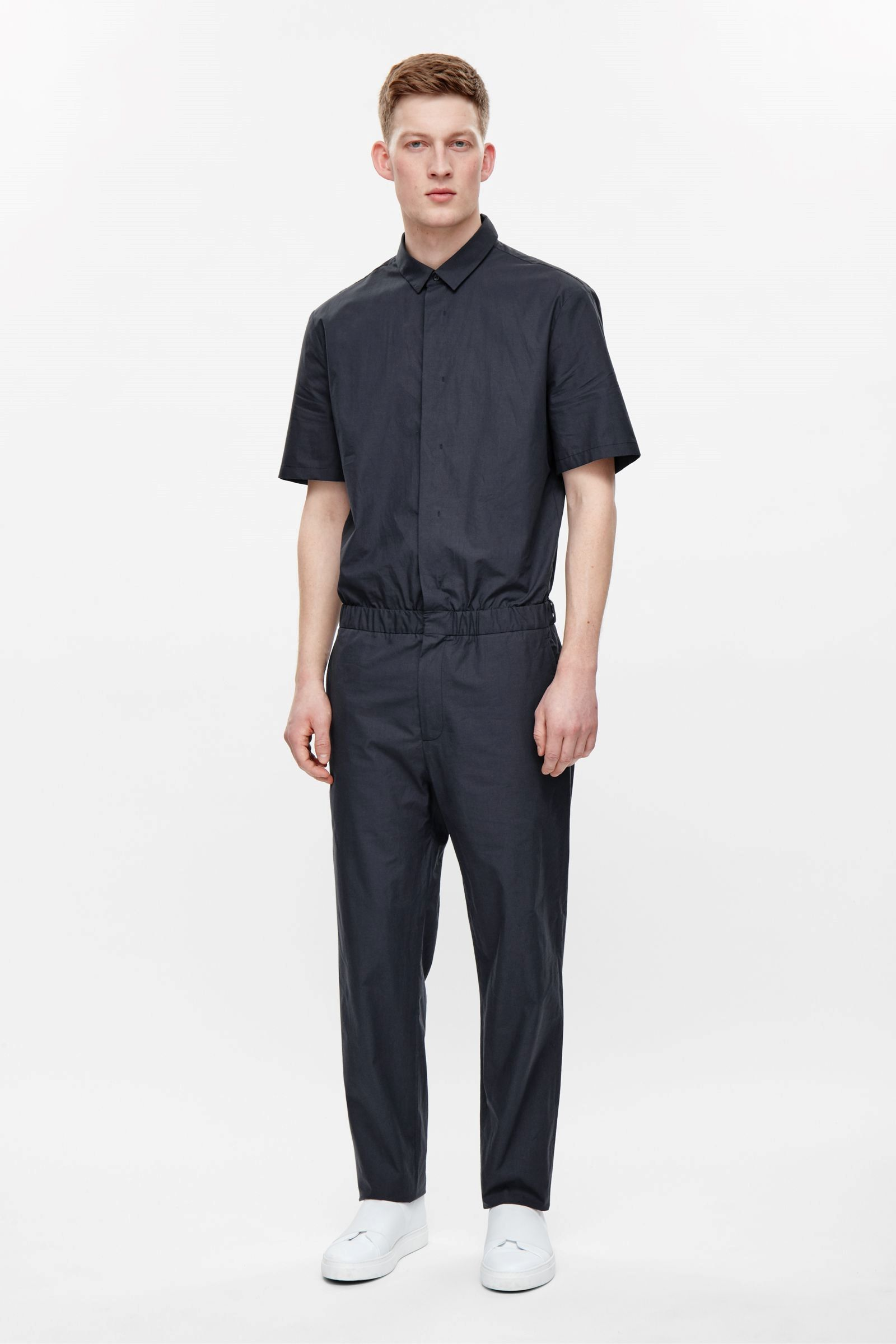 4bd90e8fbd COS image 1 of Boiler suit in Navy