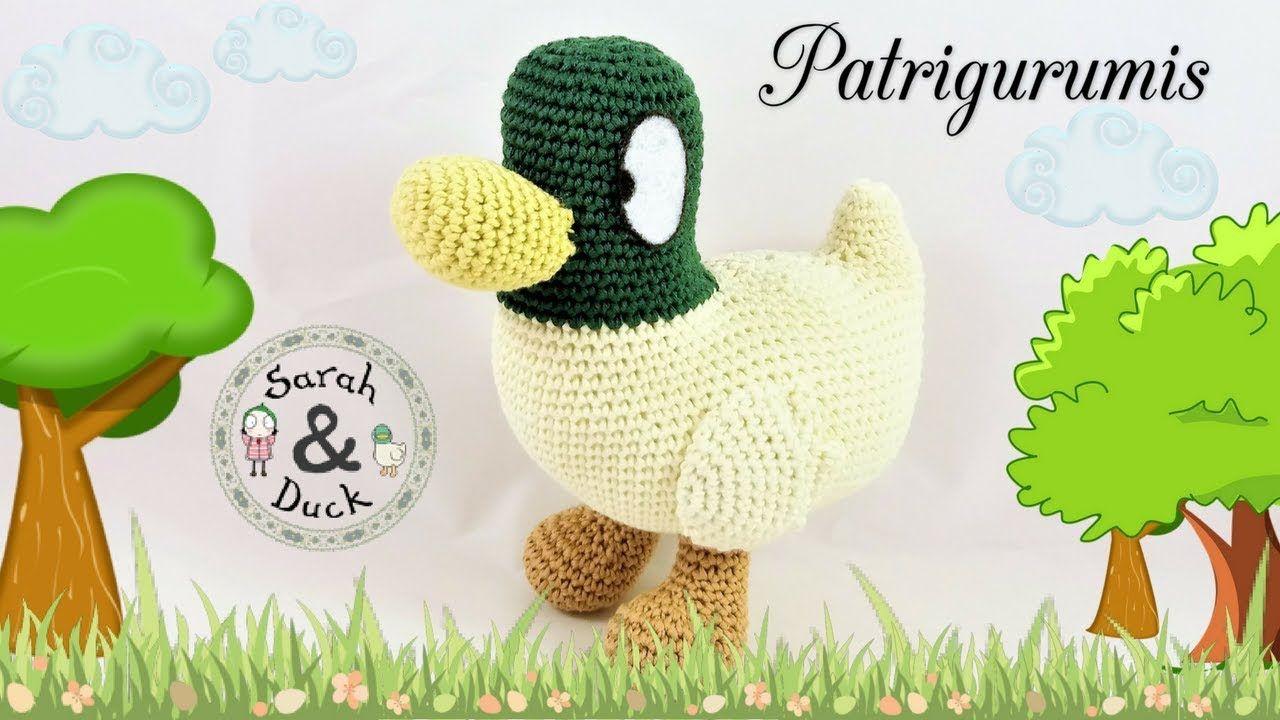 Hermosa Crochet Patrón De Pato Libre Molde - Manta de Tejer Patrón ...