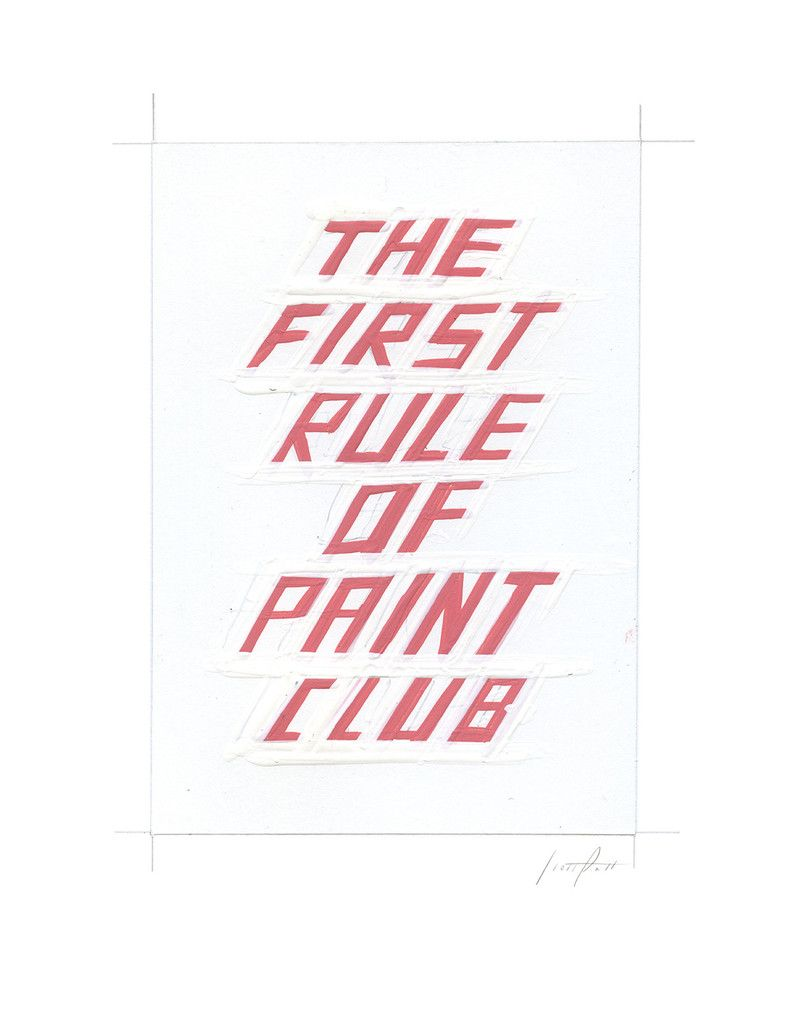 #328 THE FIRST RULE OF PAINT CLUB | scottpatt