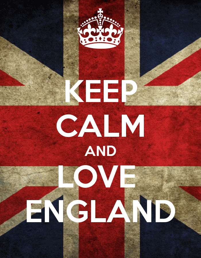 """Even though that is the Union Flag or """"Union Jack"""" and not the national flag of England featuring St. George's Cross"""