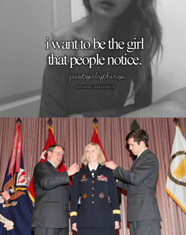 just girly things military meme