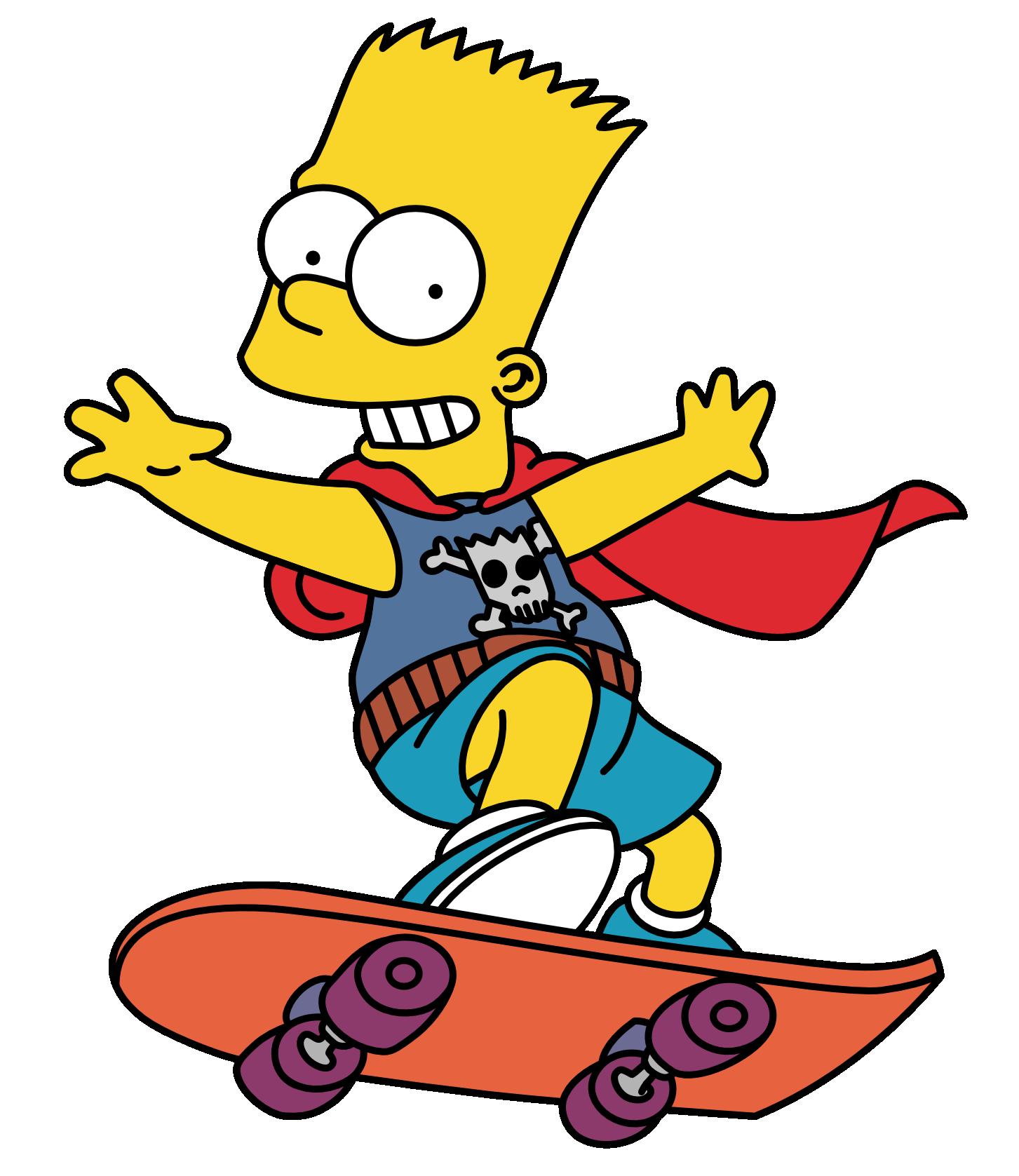 Bart The Daredevil Bart Simpson Art Simpsons Characters Simpsons Cartoon