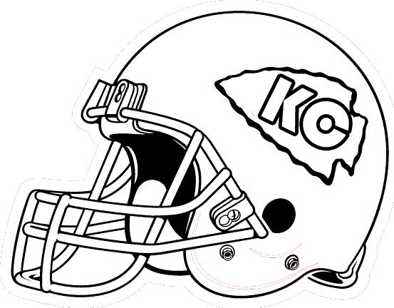 Football Helmet Kc Coloring Pages Football Coloring Pages Kansas City Chiefs Logo Chiefs Logo
