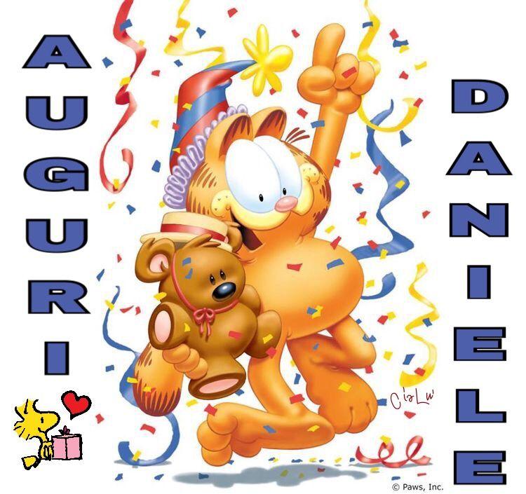 Compleanno Daniele Compleanni Onomastici E Anniversari Garfield