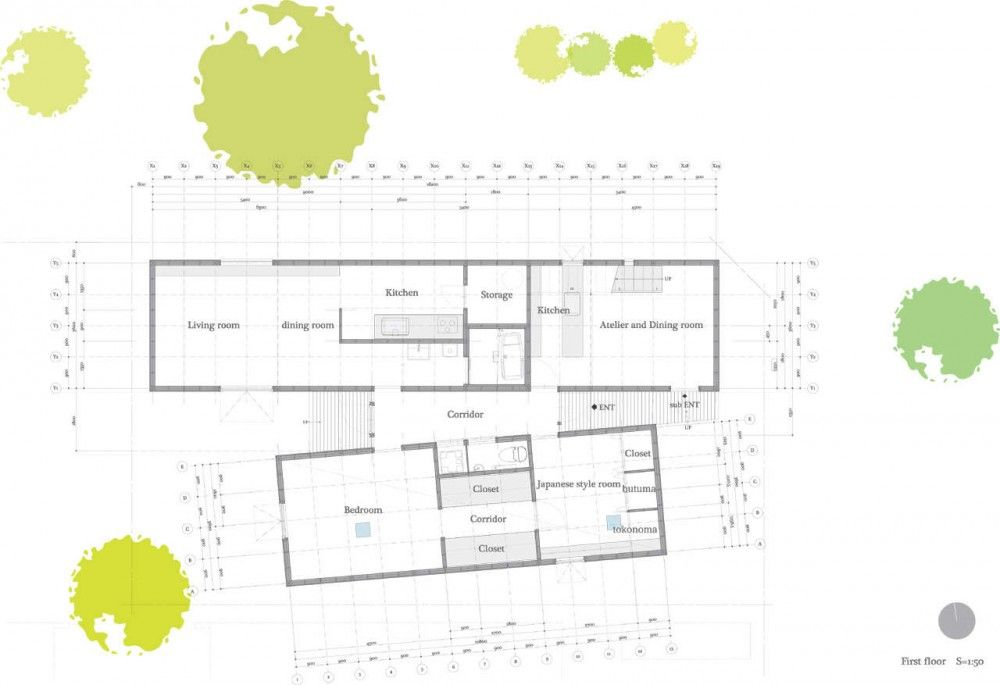Duplex House In Tokito / Hidehiro Fukuda Architects (mit