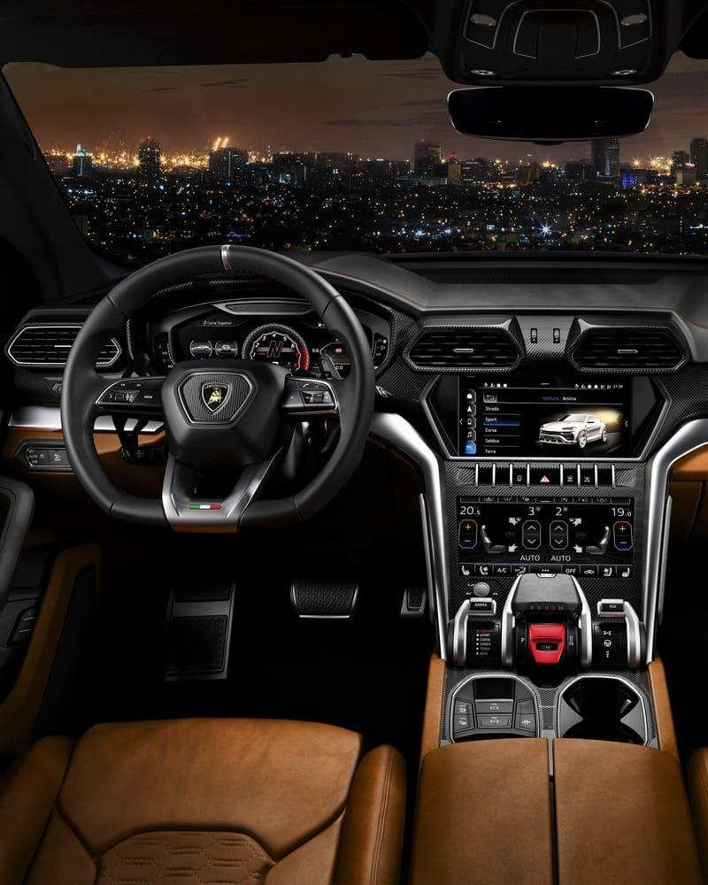 Lambo Urus Lamborghini Suv Interior