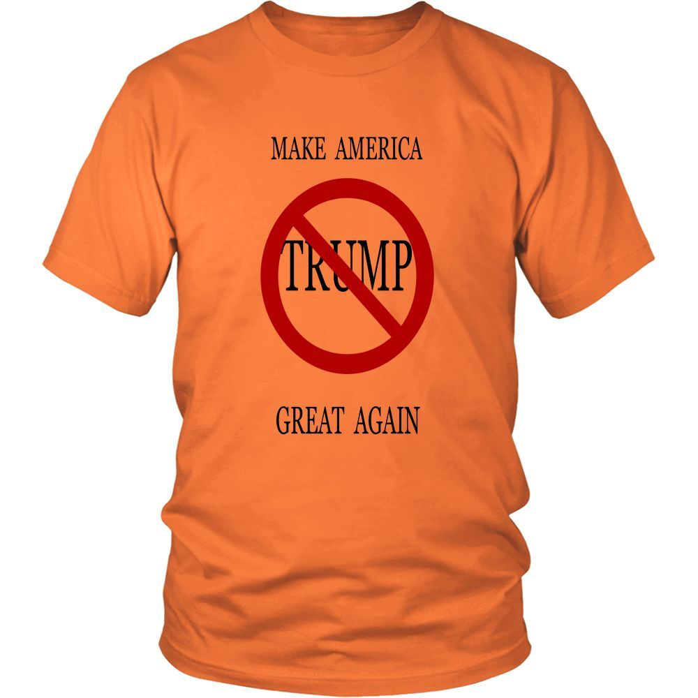 MAKE AMERICA GREAT AGAIN TRUMP DISTRICT UNISEX TEE SHIRT