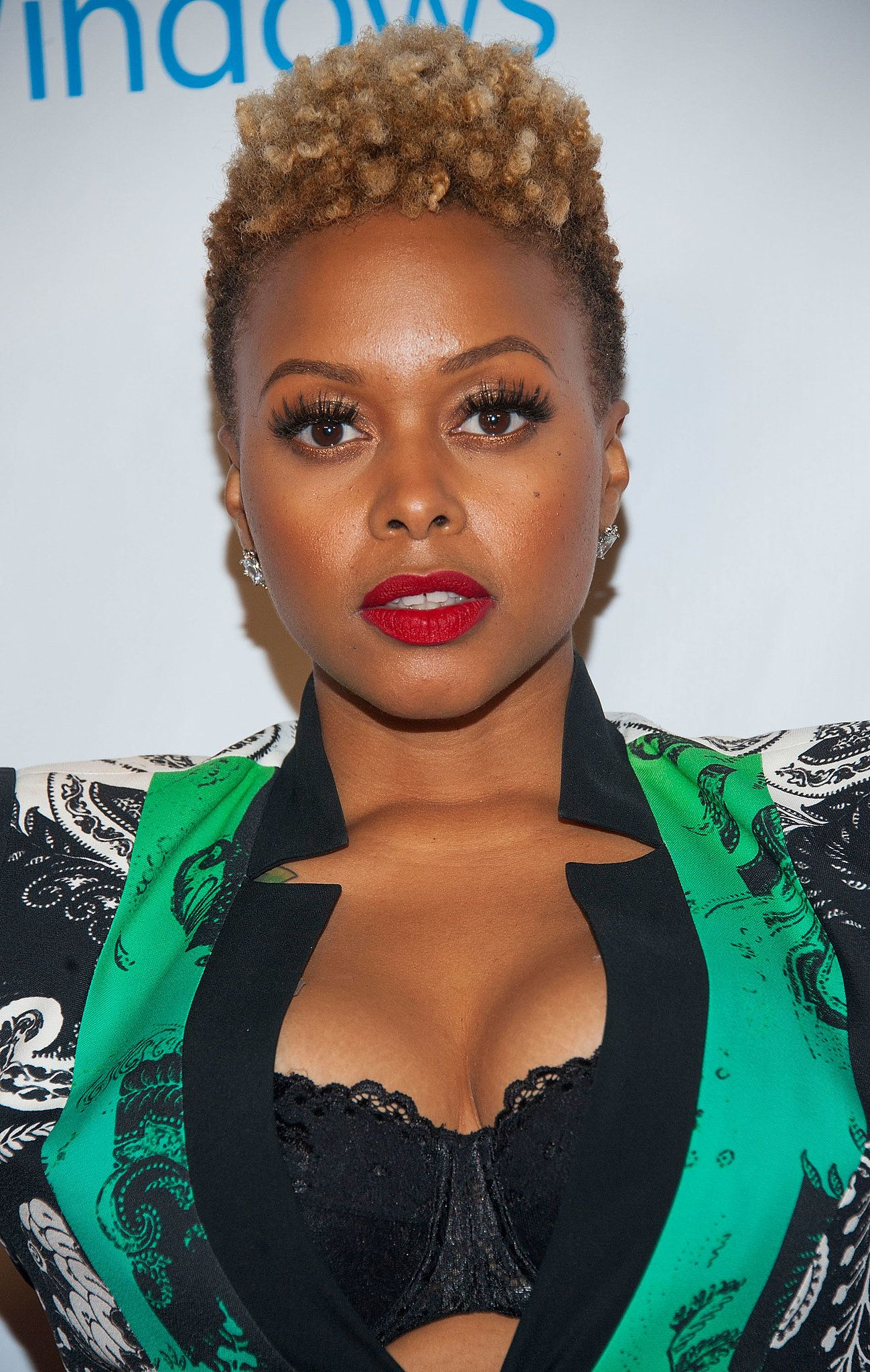 chrisette michele | naturally true | natural hair styles
