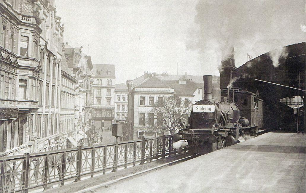 Willy Römer, Berlin, Bahnhof Börse, 1904.