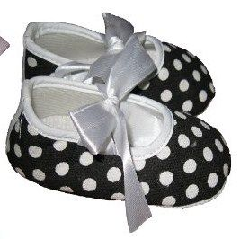 ♥ Black & White ♥ Baby Shoes