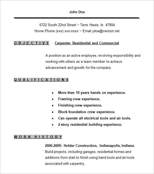 9 Years Experience Resume Format #experience #format #resume #years