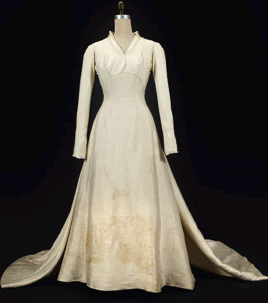 Maria\'s Wedding Dress from the Sound of Music has been rediscovered ...