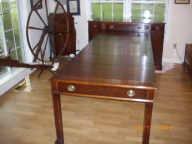 Charming Collectibles General (Antiques): Saginaw Furniture Shop Buffett, Dark  Mahogany, Storage