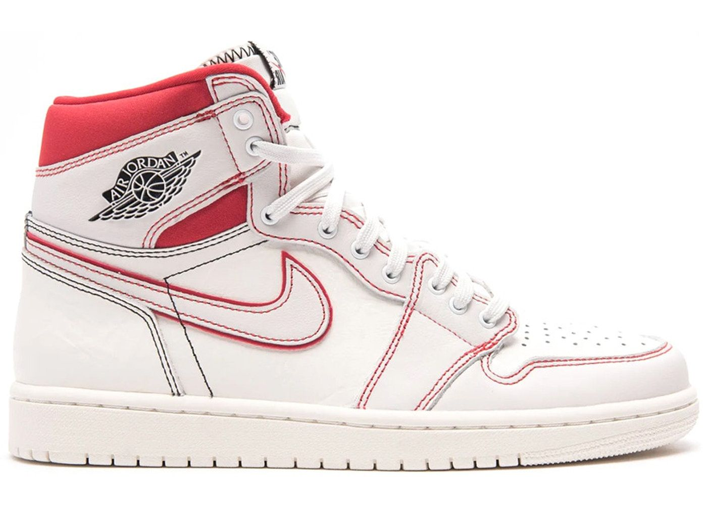 c243f38d Check out the Jordan 1 Retro High Phantom Gym Red available on StockX