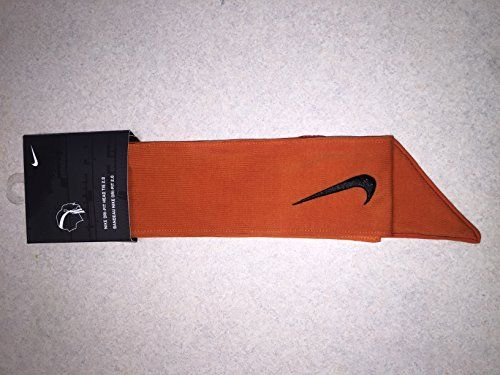 Custom Orange Nike Dri-Fit Head Tie 2.0 Black Swoosh Headband Tennis  Basketball Yoga (