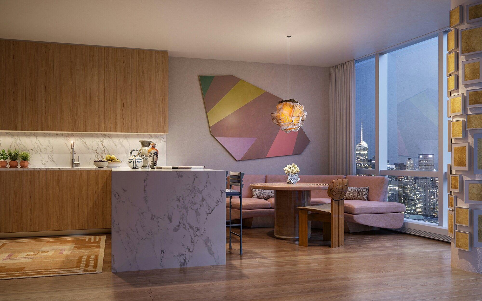 Kelly Behun Studio Rendering By Binyan Studio Interior Kelly Behun Interior Design