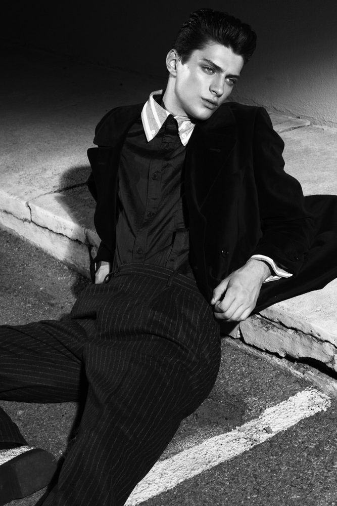 Matthew Bell Photographed By Dan Smith For Crash Magazine B W