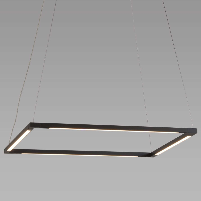 Z Bar Square Pendant By Koncept Lighting Zbp 24 S Sw Mtb Cnp In 2020 Led Light Bars Ambient Lighting Square Pendant