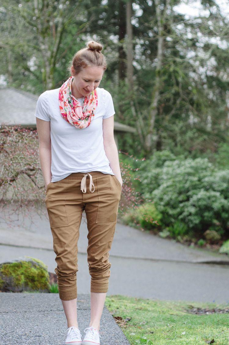 True Bias Hudson Pants in Stretch Microfiber Twill | Schnittmuster ...